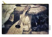 Mandolin By Lady's Feet Carry-all Pouch