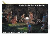 Manger Christmas Card Carry-all Pouch