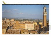 Mangia Tower Piazzo Del Campo  Siena  Carry-all Pouch