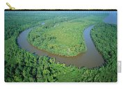 Mangrove Forest In Mahakam Delta Carry-all Pouch