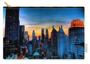 Manhattan At Sunset Carry-all Pouch