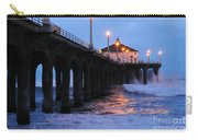 Manhattan Beach Pier Crashing Surf Carry-all Pouch
