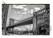 Manhattan Bridge - Pike And Cherry Streets Carry-all Pouch