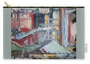 Manhattan Cityscape 1982 Carry-all Pouch