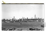 Manhattan From New Jersey Carry-all Pouch
