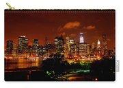 Manhattan Night Skyline Carry-all Pouch