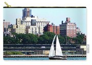 Manhattan - Sailboat Against Manhatten Skyline Carry-all Pouch