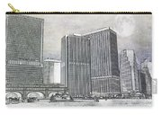 Manhattan Seaport Carry-all Pouch by Juli Scalzi