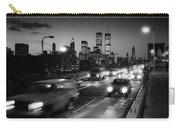 Manhattan Skyline Dusk 1980s Carry-all Pouch