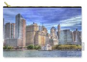 Manhattan Skyline From Hudson River Carry-all Pouch by Juli Scalzi