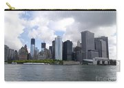 Manhattan Skyline From The Hudson River Carry-all Pouch