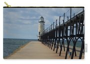 Manistee Lighthouse And Walkway Carry-all Pouch