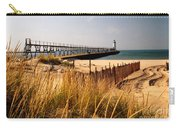 Manistee Lighthouse Carry-all Pouch by Crystal Nederman