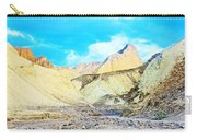 Manly Beacon From Golden Canyon In Death Valley National Park-california Carry-all Pouch