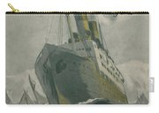 Manned By All American Crew Carry-all Pouch by Edward Hopper