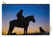 Man's Best Friend Carry-all Pouch by Inge Johnsson