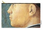 Mantegna's Portrait Of A Man Carry-all Pouch