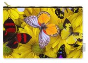 Many Butterflies On Mums Carry-all Pouch