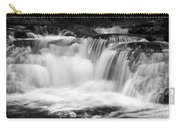 Many Falls - Bw Carry-all Pouch