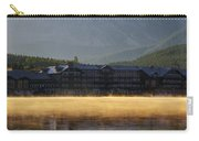 Many Glacier Hotel Sunrise Panorama Carry-all Pouch