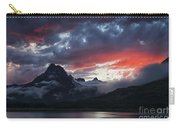 Many Glacier Sunset Carry-all Pouch