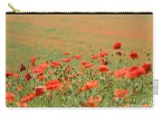 Many Poppies Carry-all Pouch