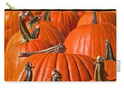 Many Pumpkins In A Row Art Prints Carry-all Pouch