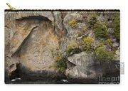 Maori Rock Art Carry-all Pouch