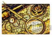 Map And Compass Carry-all Pouch