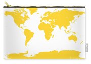 Map In Yellow Carry-all Pouch