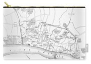 Map: London, 13th Century Carry-all Pouch