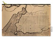 Map Of Alexandria 1798 Carry-all Pouch