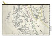 Map Of Ancient Egypt Carry-all Pouch