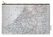 Map Of Belgium And Holland Or The Netherlands Carry-all Pouch