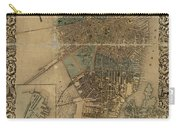 Map Of Boston 1852 Carry-all Pouch