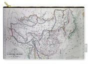 Map Of China And Japan Carry-all Pouch