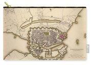 Map Of Copenhagen 1837 Carry-all Pouch