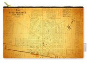 Map Of Detroit Michigan C 1835 Carry-all Pouch