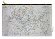 Map Of Europe In The Middle Ages Carry-all Pouch