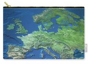 Map Of Europe Carry-all Pouch