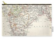 Map Of India Carry-all Pouch