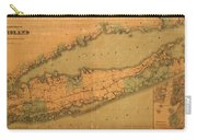 Map Of Long Island 1888 Carry-all Pouch