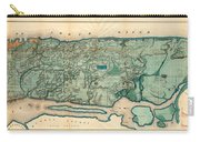 Map Of Manhattan Carry-all Pouch