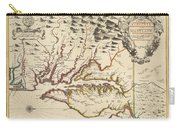 Map Of Maryland 1676 Carry-all Pouch