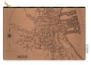 Map Of Nantucket 1834 Carry-all Pouch