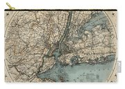 Map Of New York 1891 Carry-all Pouch