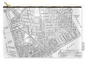 Map Of New York City, 1803 Carry-all Pouch