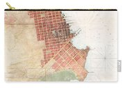 Map Of San Francisco California Carry-all Pouch