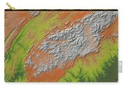 Map Of Southern Appalachia Carry-all Pouch