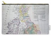 Map Of The British Isles  Carry-all Pouch